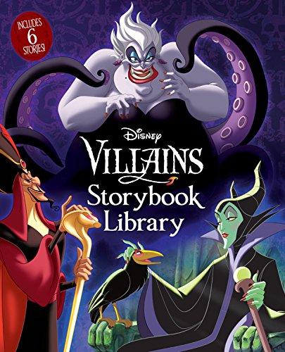 (Disney Villains Storybook Library)
