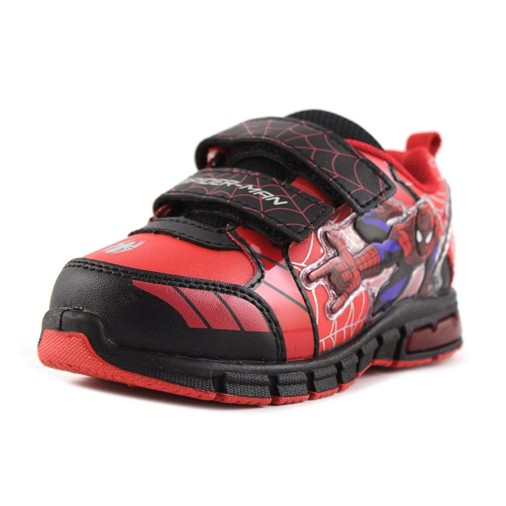 Ultimate Spiderman Little Boy's Light Up Sneakers Shoes