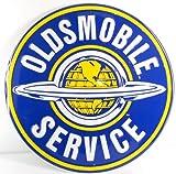 "Oldsmobile Service 24"" Extra Large Metal Sign"