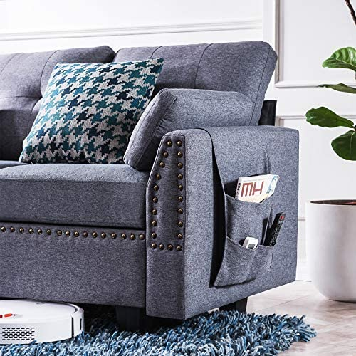 home, kitchen, furniture, living room furniture,  sofas, couches 4 picture HONBAY Reversible Sectional Sofa Couch for Living Room promotion