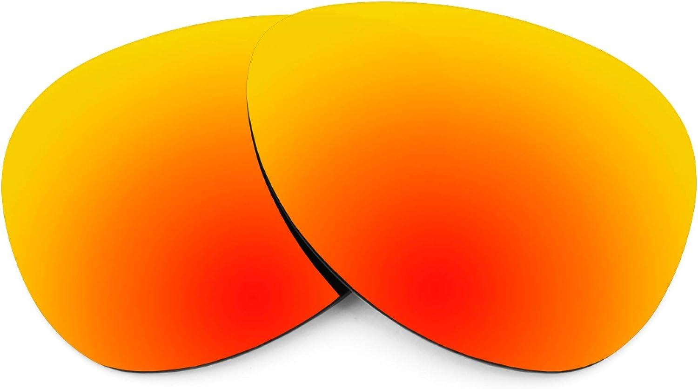 Revant Verres de Rechange pour Ray-Ban RB8307 55mm - Compatibles avec les Lunettes de Soleil Ray-Ban RB8307 55mm Rouge Feu Mirrorshield - Polarisés