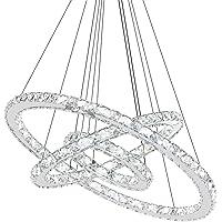 SAILUN® 72W LED Cristal Lámpara de Araña Moderna