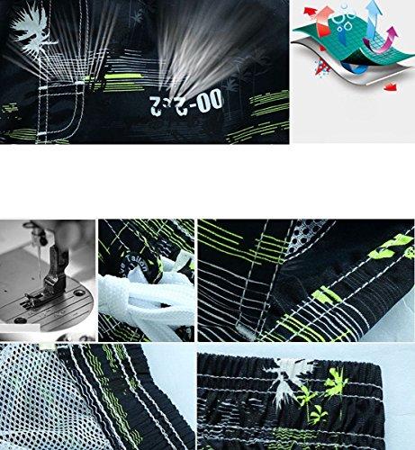 Panegy Herren Sommer Strand Shorts Freizeit Muster Drucken Surfshorts mit Elastischer Band Board Sports Schnell trocknend Badehosen Größe Wahlbar