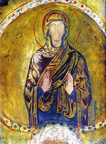 John Singer Sargent Mosaic of Saint Anne ~ A Mosaic, Ravenna 1897 Private Collection 30