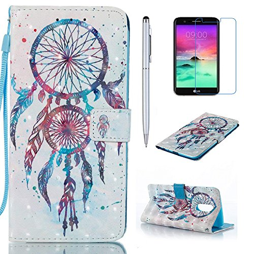 LG Stylo 3 Case, LG Stylus 3 Case, Everun [Stand Feature] Premium PU Leather Wallet Case [Card Slots] Book Stylev Protective Flip Cover for LG Stylo 3 LS777/LG Stylus 3