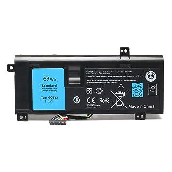 M14X G05YJ 8X70T batería del Ordenador portátil para DELL Alienware 14 A14 M14X R3 14D-