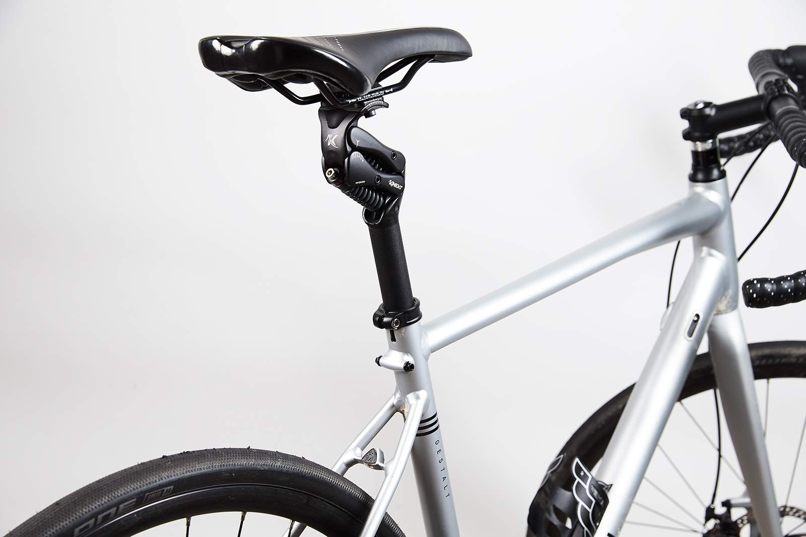 Cirrus Cycles KINEKT 2.1 Aluminum Bike Seatpost with Suspension, Post 30.9 x 350 mm, Weight MD 150-200 lb by Cirrus Cycles