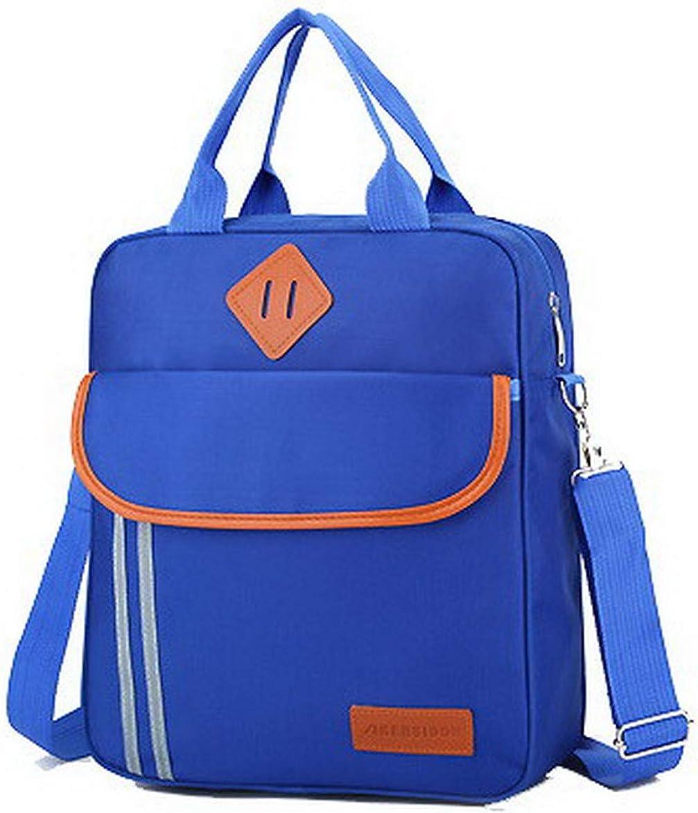AmoonyFashion Womens Tote Bags Buckle Shopping Nylon Crossbody Bags,BUTBS182181
