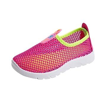 2819aa876a15c Amazon.com: ❤ Sunbona Infant Kids Baby Boys Girls Flat Sneaker ...