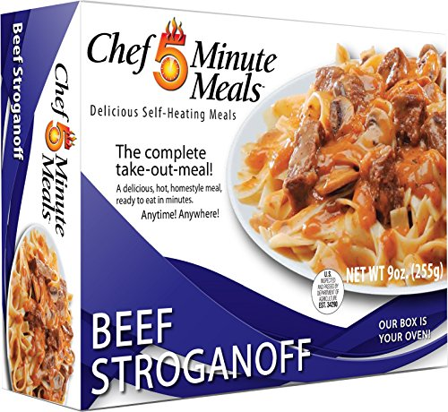 Chef 5 Minute Meals Beef Stroganoff with Noodles by Chef 5 Minute Meals