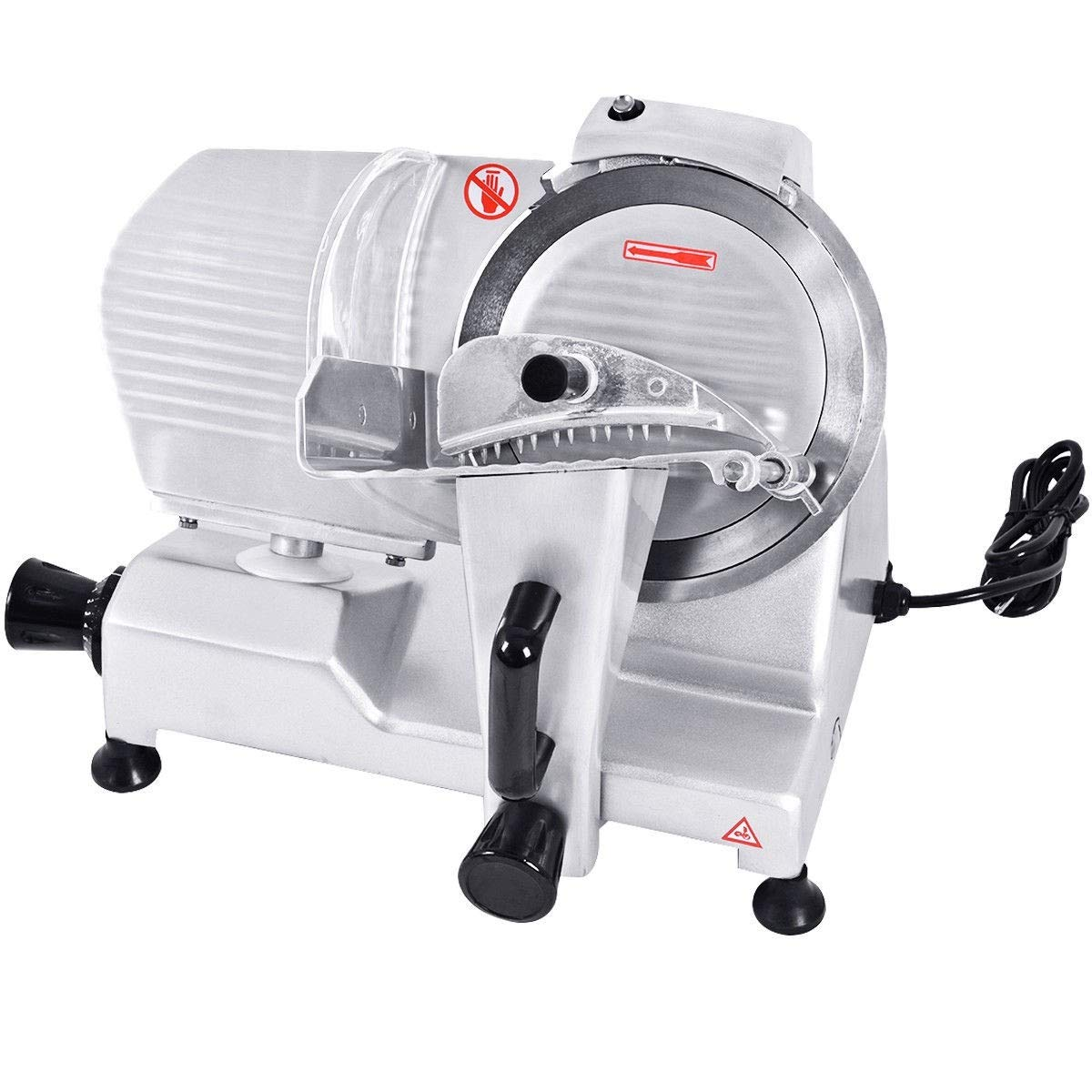 "zwan 9"" Blade Commercial Meat Slicer Deli Meat Cheese Food Slicer with Ebook"