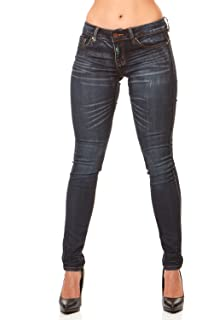 Cover Girl Women/'s Tall Plus Size Mid Rise Classic 5 Pocket Skinny Jeans,
