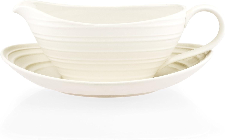 Mikasa Swirl White 2-Piece Gravy Boat Set