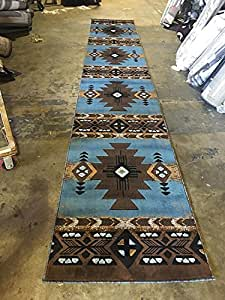 Amazon Com Southwest Native American Long Runner Area Rug