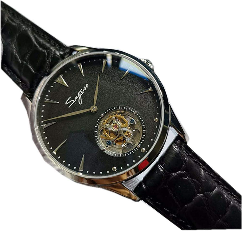 Seagull ST19 Uhrwerk Herren Armbanduhr Pilot Chronograph Saphir Glas Mechanisch