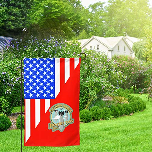 XIAYANGqi B-17 Flying Fortress WW2 Bomber USAAF Garden Flag Home Flag Outdoor Flags Double Sided ()