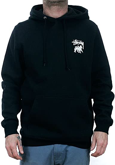 Stussy Stock Lion Hoodie L