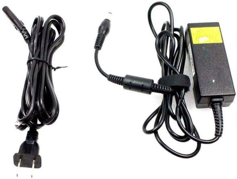 Toshiba Mini NB205-N210 NB205-N211 NB205-N310/BN NB205-N311/W NB205-N312/BL NB205-N313/P 30 Watt 100-240v Black AC Power Adapter PA-1300-03 PA3743U-1ACA