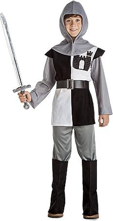 Kimokawaii Disfraz de Caballero Medieval Niño (1-2 años): Amazon ...