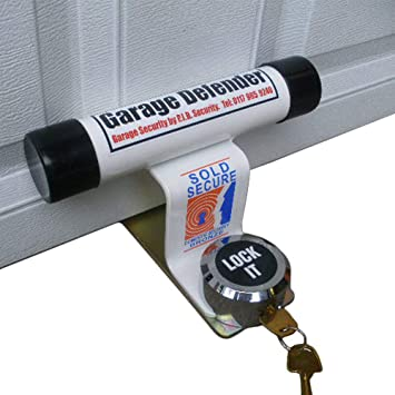 Up And Over Security Garage Door Defender Complete With Padlock Made In The UK