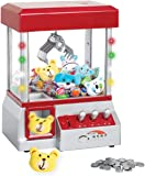 Etna The Claw Toy Grabber Machine with Lights & Sounds - Electronic Claw Toy Grabber Machine, Animation, 6 Animal Plush…