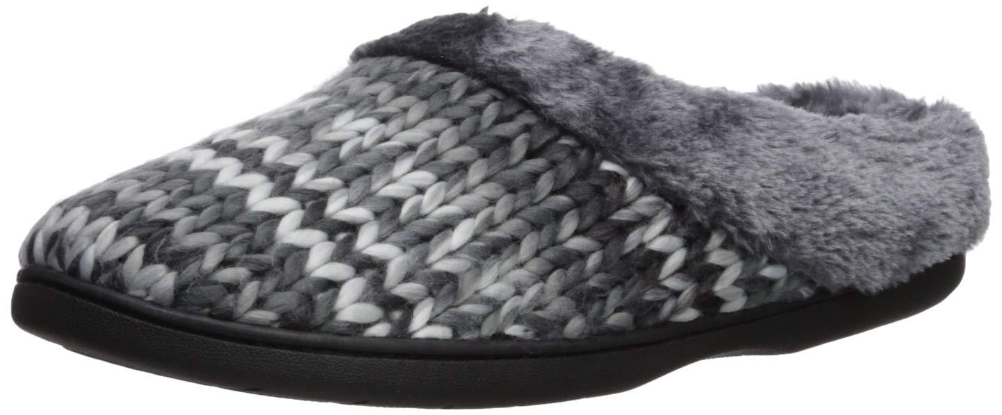 842d2060528 Dearfoams Women s Chunky Space-Dye Knit Clog   Slippers   Clothing ...