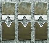TEN-HIGH diameter 6.5mm cutter blade for 330 Gas-Electric Stripping Machine (3 set)