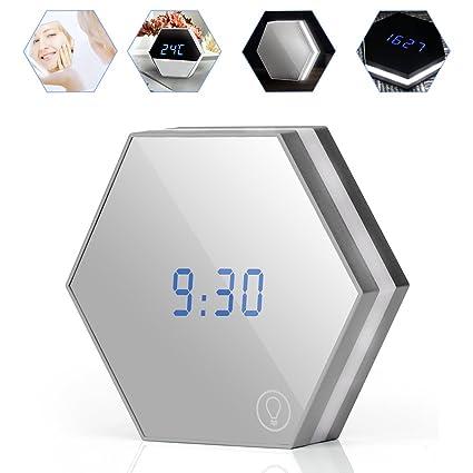 Home & Garden Flight Tracker Wake Up Led Desktop Desk Clocks Usb Makeup Mirror Digital Electronic Alarm Clock Wall Clocks Home Decoration Clock Night Light Buy Now