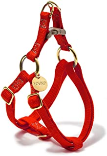 product image for Found My Animal Red Cotton Cat & Dog Harness, Medium