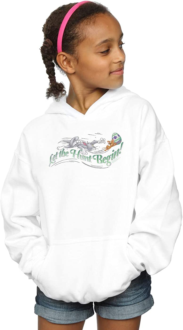 Tom and Jerry Girls Let The Hunt Begin Hoodie