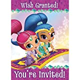 Shimmer and Shine Invitations, 8ct