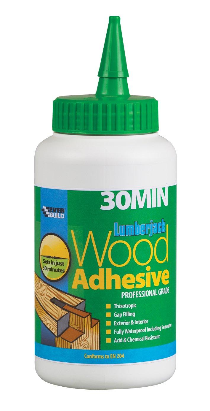 Everbuild 30MINPU7 LumberIrwin 30min Polyure Wood Adhesive Liquid 750g EVB30MINPU7 B0012M5QCW