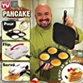 2-in-1 Four Picture Perfect Pancake Maker Pan and Omelet Maker Pan