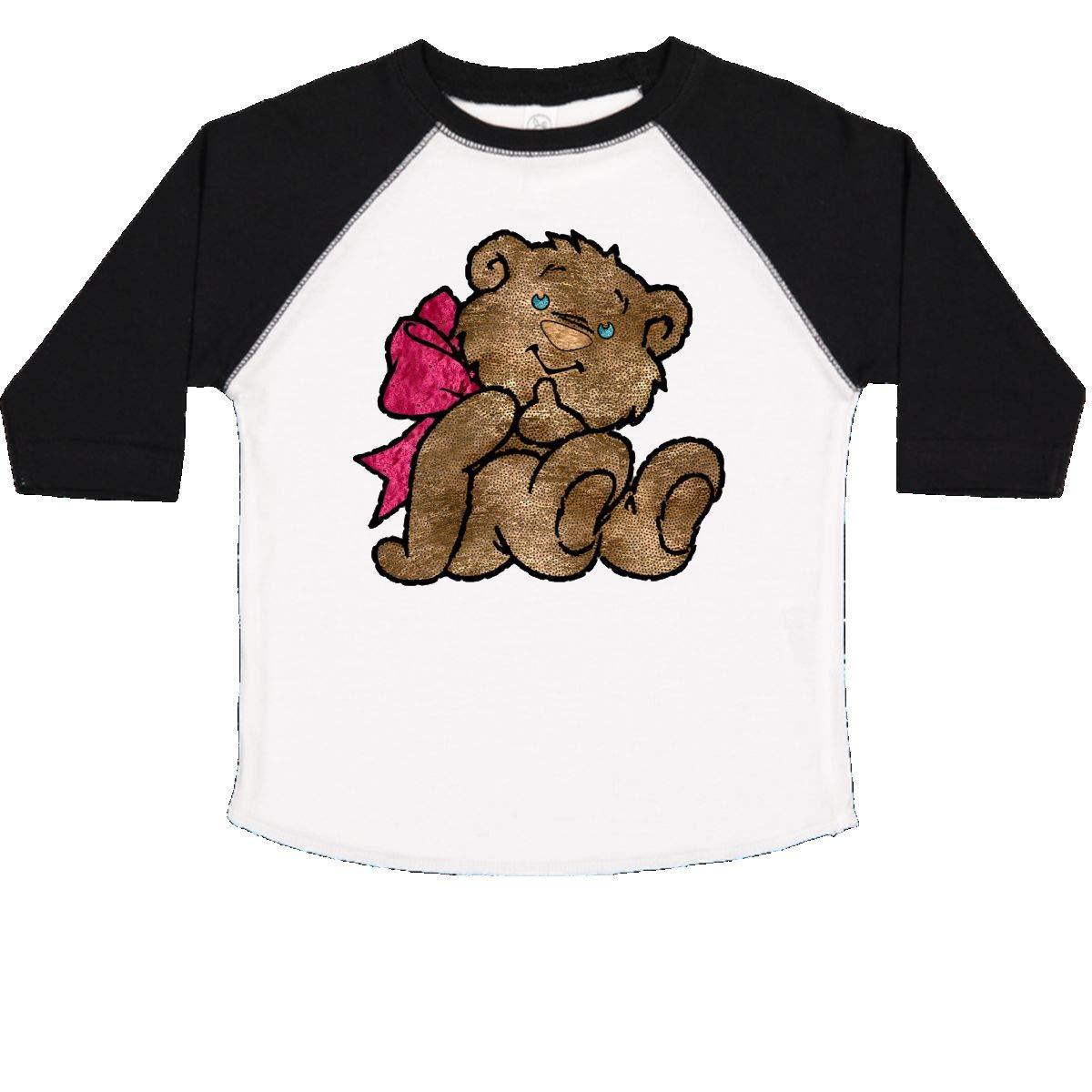 inktastic Teddy 2 Toddler T-Shirt