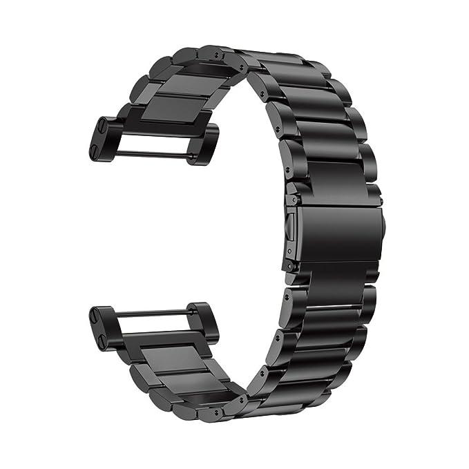 Amazon.com: alonea Acero Inoxidable Reloj Banda Correa de ...