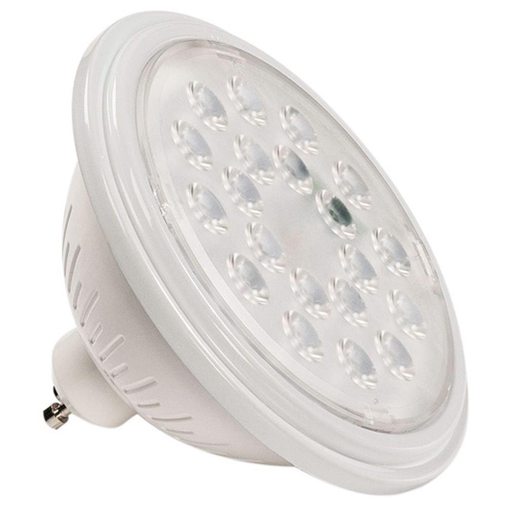 SLV GU10 ES111 SMART LED Leuchtmittel VALETO (1st Generation), 11,1 cm Ø   Alexa-kompatibel (Amazon Echo), 9,5 W, 830 Lumen Lichtstrom, CCT  dimmbare LED-Lampe mit EEK A+, 10 kWh Energieverbrauch
