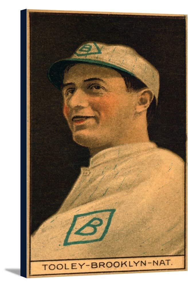 Brooklyn Dodgers – Bert Tooley – 野球カード 19 x 36 Gallery Canvas LANT-3P-SC-21857-24x36 B0184AC8B6  19 x 36 Gallery Canvas