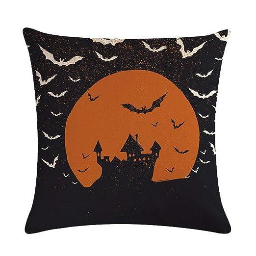 Sitonelectic Halloween Decor Throw fundas de almohada ...