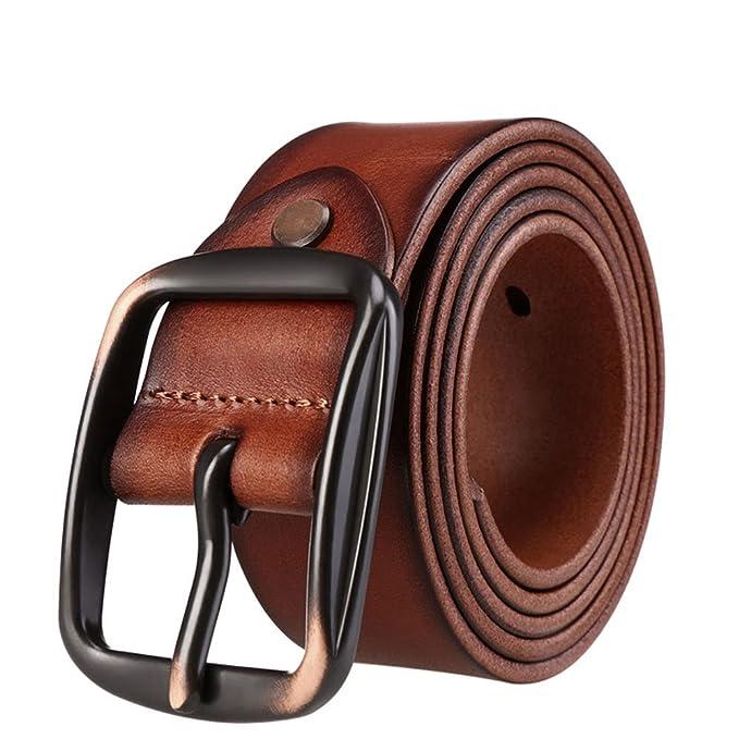 Hombre Alfiler hebilla Cinturón 42fc3a021b8a