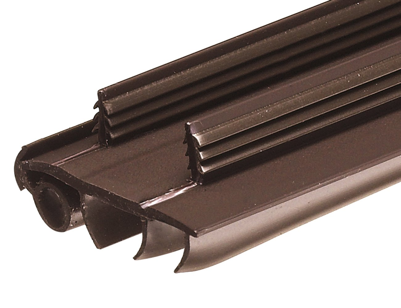 Frost King UDS36 1-3/4' x 36' Frost King UDS36 Snap-In Vinyl Door Bottoms for Metal Doors, Brown