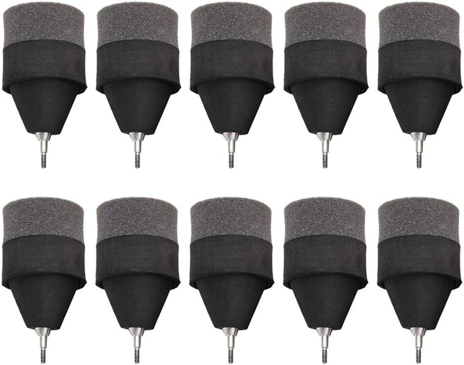 weicher Schaumstoff-Pfeilspitze f/ür das Bogenschie/ßen Gaosheng 10 PCS Bogenschie/ßen-Pfeilspitzen