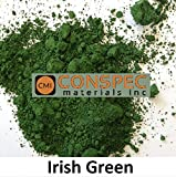 Conspec 2-oz IRISH GREEN Powdered Color for Concrete, Cement, Mortar, Grout, Plaster, Colorant, Pigment