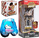 HOT Chun-Li Exclusive Street Fighter Action Vinyl Blind Box + Knock Outs 7'' Figure 30th Anniversary Limited Edition Clack Costume & Hatsune Miku Blind Bag
