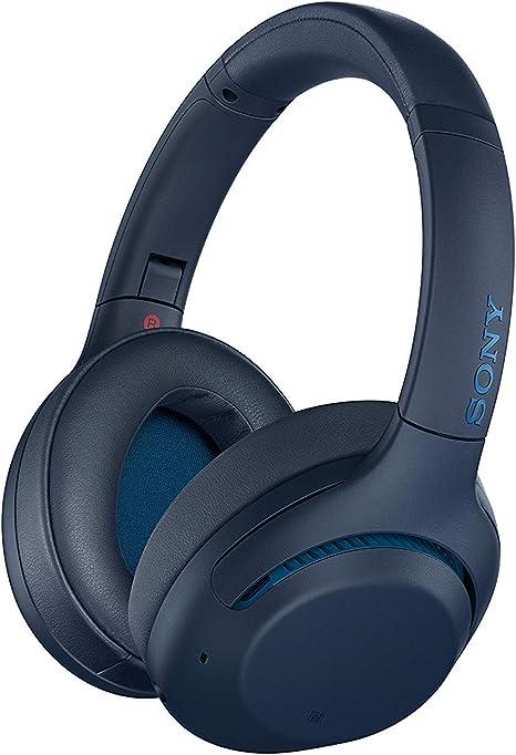 Sony WH-XB900N - Auriculares Inalámbricos Noise Cancelling (Bluetooth, Extra Bass, 30h de batería, Carga Rápida, Óptimo para trabajar, Micro para llamadas manos libres), Azul: Amazon.es: Electrónica