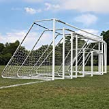 Alumagoal 3 in. Classic Soccer Goal – Set of 2 (6 ft. W x 2 ft. D x 4 ft. H)
