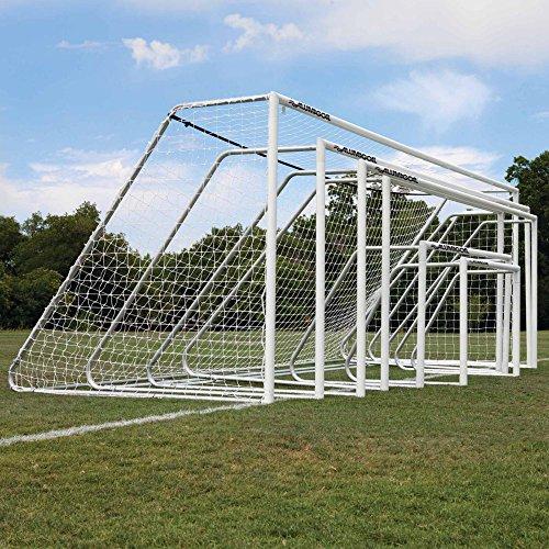 Alumagoal 3 in. Round Classic Club Soccer Goals - (Soccer Aluminum Round Club)