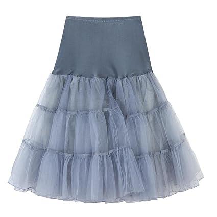 Falda para mujer con diseño retro de los años 50 8f5845f015de