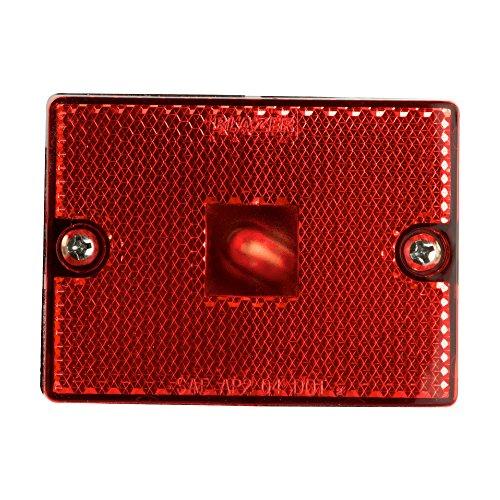 - Blazer B423R Rectangular Side Clearance Marker with Reflex - Red