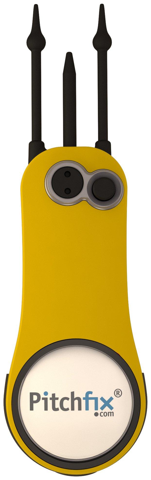 Pitchfix Fusion 2.5 Pin, Yellow/White by Pitchfix (Image #2)