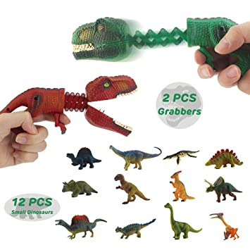OMZGXGOD - 2 Piezas Capturadores de Dinosaurios,Conjunto de 12 ...